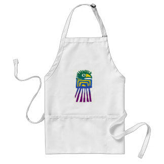 Ancient Mexican Bird Adult Apron