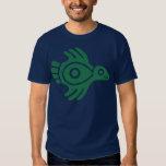 Ancient Mexican Bird T-Shirt Green