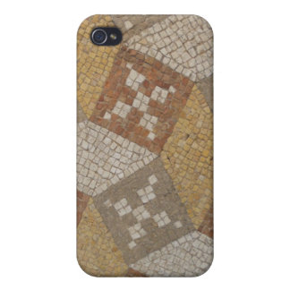 Ancient Mosaic Floor Tiles Roman Ruins iPhone 4/4S Case
