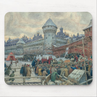 Ancient Moscow, departure after a fight Mouse Pad