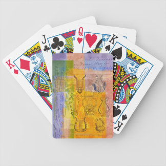 Ancient Musical Instruments Bicycle Playing Cards