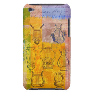 Ancient Musical Instruments iPod Touch Case-Mate Case