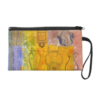 Ancient Musical Instruments Wristlet