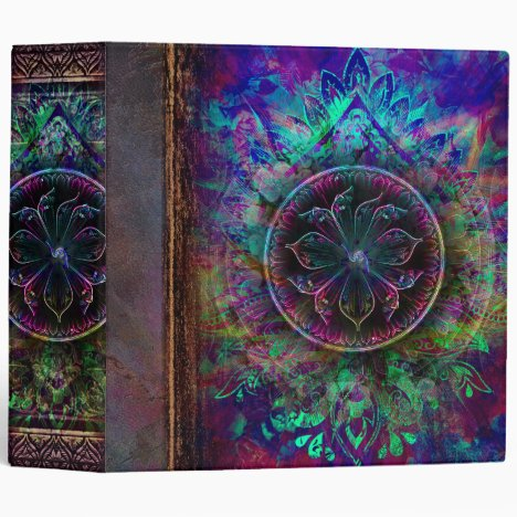 Ancient Mystic Book of Spells 3 Ring Binder