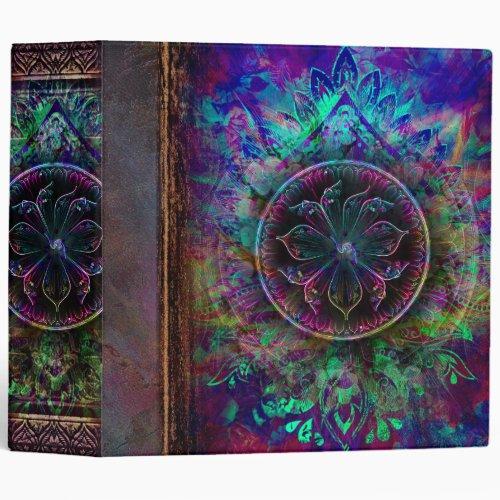 Ancient Mystic Book of Spells 3 Ring Binder