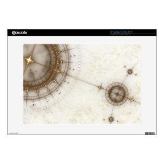 Ancient Nautical Chart, Grunge Laptop Skins