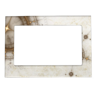 Ancient Nautical Chart, Grunge Picture Frame Magnets