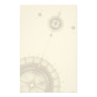 Ancient Nautical Chart, Grunge Stationery
