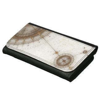 Ancient Nautical Chart, Grunge Wallets