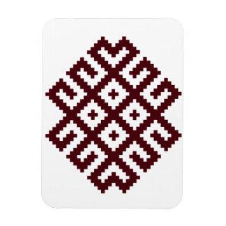 Ancient Nordic Latvian, Lithuanian Symbol Magnet