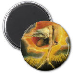 Ancient of Days 2 Inch Round Magnet