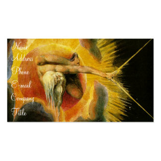 'Ancient of Days' Double-Sided Standard Business Cards (Pack Of 100)