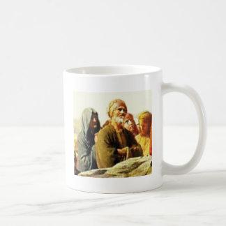 ancient old man coffee mug
