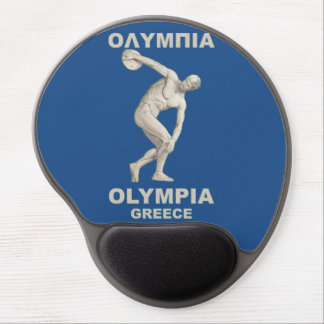 Ancient Olympia Greece Gel Mousepad