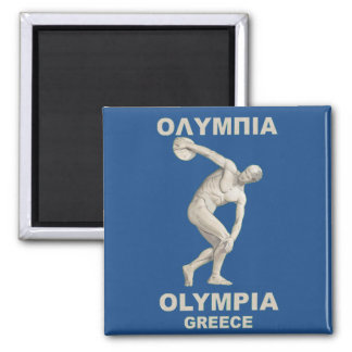 Ancient Olympia Greece Refrigerator Magnets