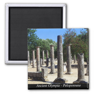 Ancient Olympia - Peloponnese Magnet
