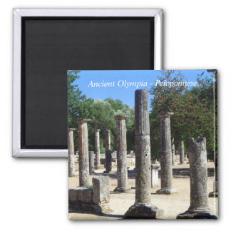 Ancient Olympia - Peloponnese Refrigerator Magnet