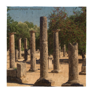 Ancient Olympia - Peloponnese Beverage Coaster