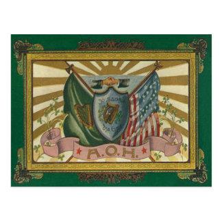 Ancient Order of Hibernians Postcards