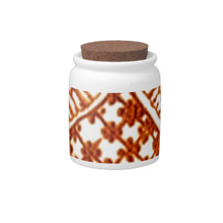 ancient ornament candy jar