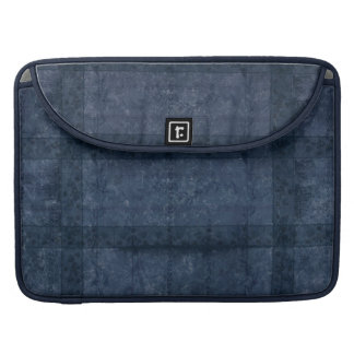 Ancient overlays-blue shade MacBook pro sleeve