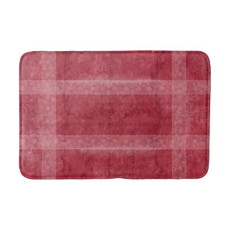 Ancient overlays-red shade bathroom mat