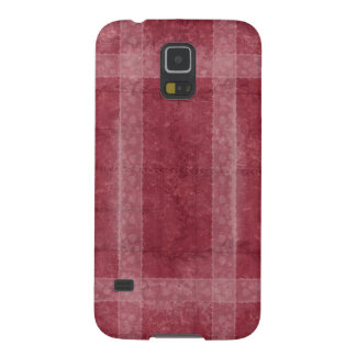 Ancient overlays-red shade galaxy s5 cover