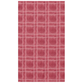 Ancient overlays-red shade tablecloth