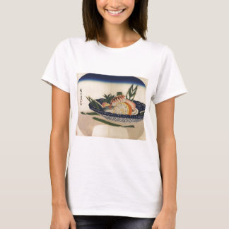 Ancient Painting of a Bowl of Sushi circa 1800's T-Shirt