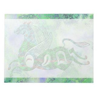 Ancient Pegasus Notepad