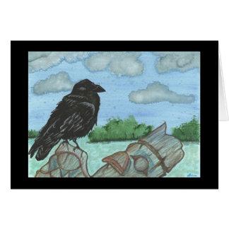 Ancient Perch Card