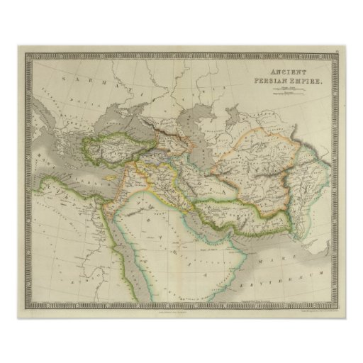 Persian Empire: Ancient Persian Empire Poster