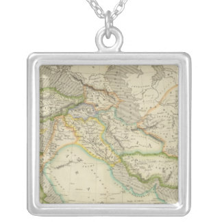 Ancient Persian Empire Silver Plated Necklace