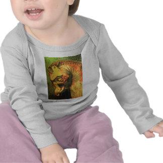 ancient persian horse head t shirts