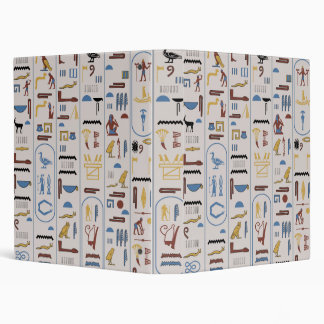 Ancient Pharaoh Ash Background Wall Art 3 Ring Binder