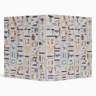 Ancient Pharaoh Ash Background Wall Art 3 Ring Binder