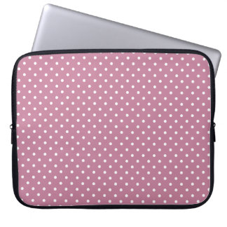 "Ancient Pink/White 15"" Laptop sleeve by Fujifilm"