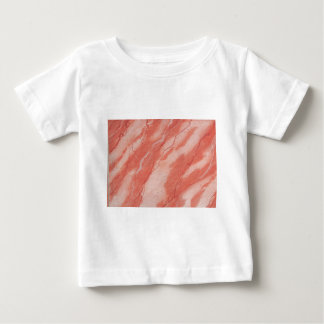 Ancient Pompeiian red marble background Baby T-Shirt