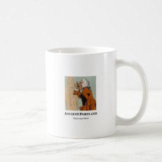 Ancient Portland Coffee Mug: Baristus vs. Morpheus