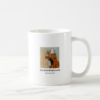 Ancient Portland Coffee Mug: Baristus vs. Morpheus Coffee Mug