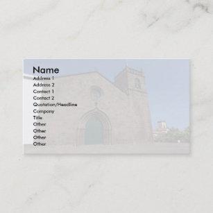 Catholic Church Business Cards Zazzle