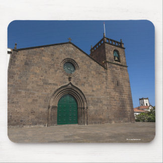 Ancient portuguese catholic church mouse pad
