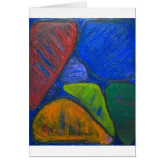 Ancient Protista Family (abstract expressionism) Card
