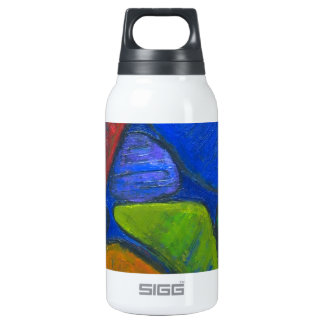 Ancient Protista Family (abstract expressionism) Insulated Water Bottle