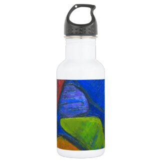 Ancient Protista Family (abstract expressionism) Stainless Steel Water Bottle