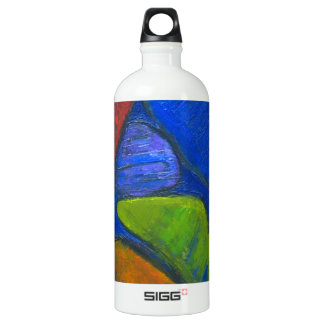 Ancient Protista Family (abstract expressionism) Water Bottle