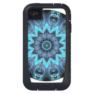 Ancient Pulse, Abstract Star Legendary Cosmic iPhone4 Case