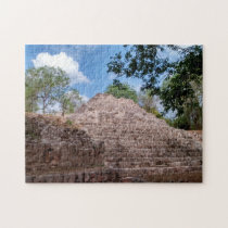 Ancient Pyramids of Mexico. Jigsaw Puzzle