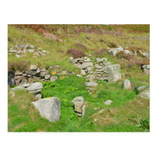 Ancient Remains In The Isles Of Scilly Postcard