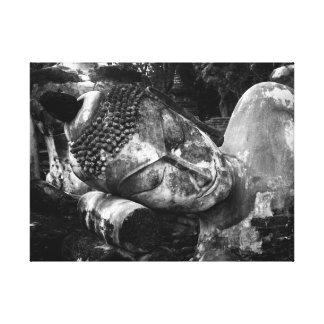 Ancient Resting Buddha Canvas Print